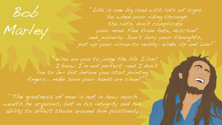 Bob Marley Quotes And Cartoon Wallpaper By Xxnot4freexx On Deviantart