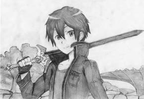 Kirito by yuri123454321