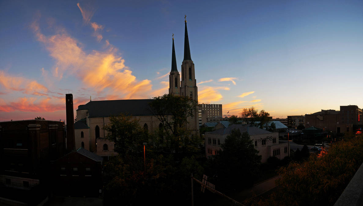 Fort Wayne Sunset by redwolf518