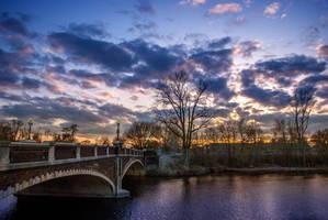 Fort Wayne Spring Sunset III by redwolf518