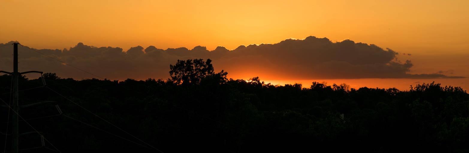 Fort Wayne Sunset 070114 by redwolf518