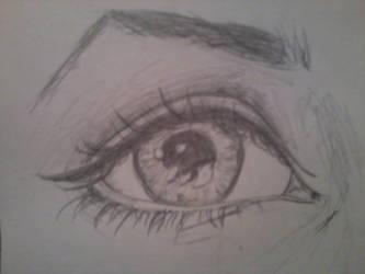 eye by gingeypoo