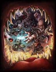 FantasyCraft Cover by Inkthinker