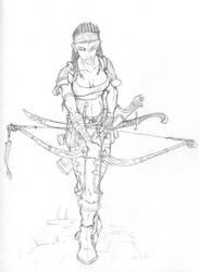 Archer by Inkthinker