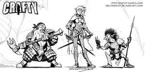 FantasyCraft - Species I by Inkthinker
