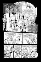 Skullkickers 12 - 'The Beholder' pg 01 by Inkthinker