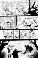Skullkickers 12 - 'The Beholder' pg 02 by Inkthinker