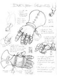 Dueling Gloves by Inkthinker