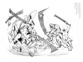 Mistborn RPG - Burning Pewter by Inkthinker