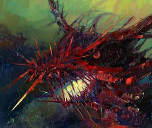 Thorn Dragon by morda-creap