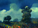 Trees in the clouds by morda-creap