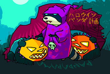 Pandarama - Halloween by morda-creap