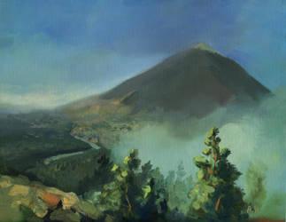 Volcano Teide by morda-creap