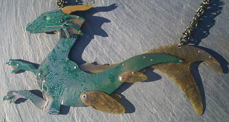 sea dragon by thebluekraken