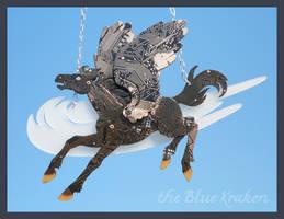 black pegasus by thebluekraken