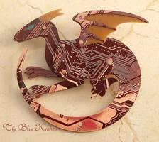 Red Circuir Dragon by thebluekraken