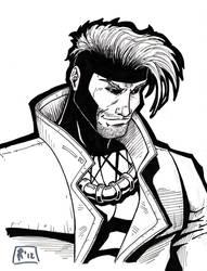 Gambit sketch by Jrascoe