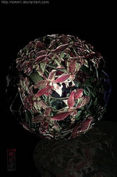 Antique Flower Ball by emmil