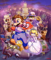 Mario Odyssey for Switch Player by stupjam
