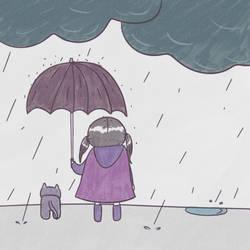 Rain by samsamsierra