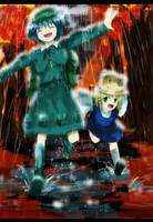 Raining Gensokyo by Kapiten70
