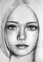 Pretty Girl Sketch by PMucks
