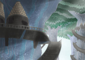 House-on-the-tree by liliflo