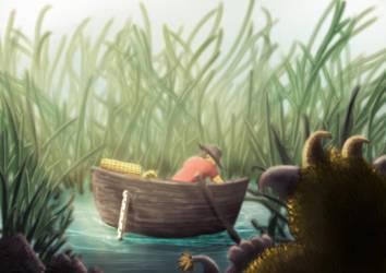 Mistery Pond by liliflo
