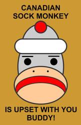 Canadian Sock Monkey by FeoAmante