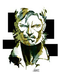 Naked Snake by CenturyWizard