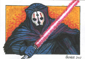 Darth Nihilus ACEO 2 by HalHefnerART