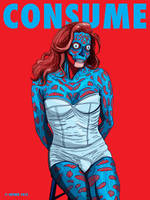 Caitlyn Jenner CONSUME They Live by HalHefnerART