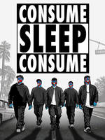 Straight outta Compton- Consume Series - THEY LIVE by HalHefnerART