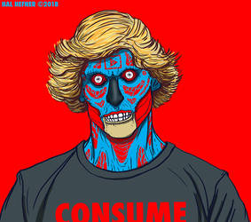 Logan Paul - Consume- THEY LIVE by HalHefnerART