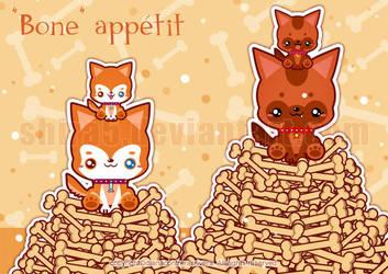 Bone Appetit by Cukismo