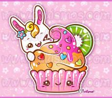 bunny-cupcake cukismosDA byshira5 by Cukismo