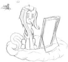 Artistshy sketch by EthanPow