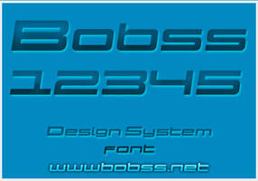 Design System font by bobs66