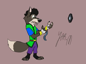 J-Man: Wolf Of The Light by DisneyJared23