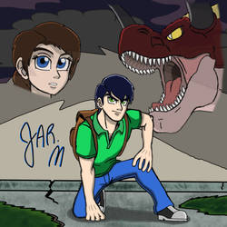 J-Man On his Own to Rescue Lilly from Shadow Horn by DisneyJared23