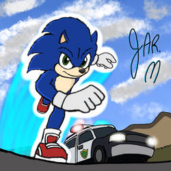 Sonic the Hedgehog 2019 movie by DisneyJared23