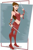 Elektra by Duncecap-Dan