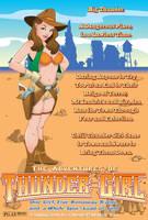 Thunder Girl Poster by Duncecap-Dan