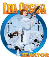 Leia Organa, Senator by Duncecap-Dan