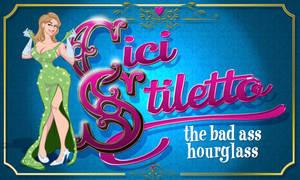 Cici Stiletto business card commission by Duncecap-Dan