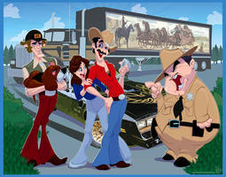 Smokey and le Bandit by Duncecap-Dan