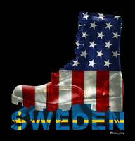 Sweden More Black Around Edge by EmyWarrior