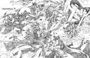 Marvel Villains by denart