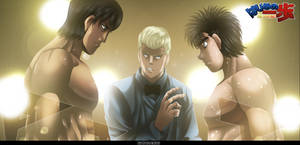 Hajime No Ippo 1032 - Prepared For The Fight by HikariNoGiri