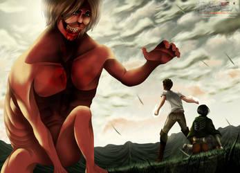 Shingeky No Kyojin 50 - I Will Destroy You by HikariNoGiri